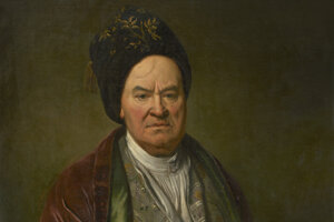 Vydražený obraz Jána Kupeckého - Portrét neznámeho muža
