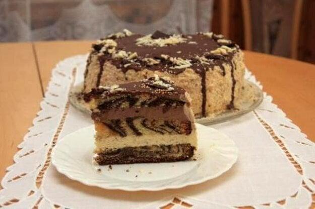 Mramorová torta