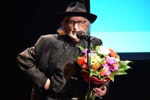 Cenu si prevzal aj režisér Juraj Jakubisko.