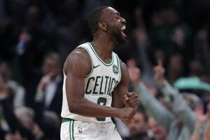 Kemba Walker z Bostonu Celtics.