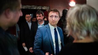 Exšéf tímu Kuciak sa prvýkrát ukázal na verejnosti (video)