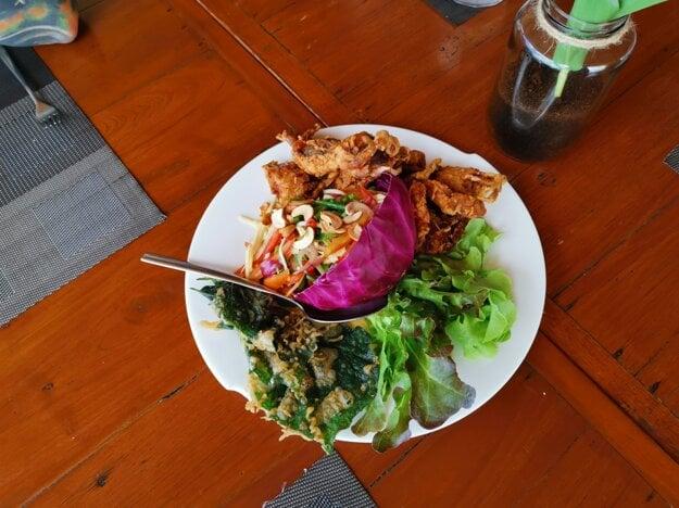 Thajské jedlo je výborné, netreba sa báť jesť mimo hotelov