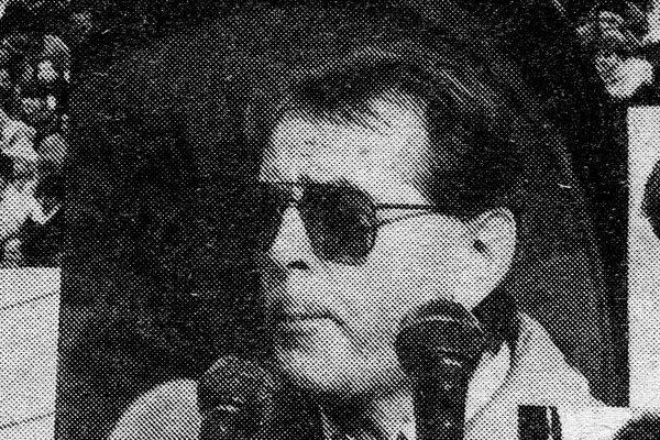 Mikuláš Laš počas revolučných udalostí.