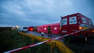 Ministerka Saková: Príčinou nehody je zrejme preťažený nákladiak