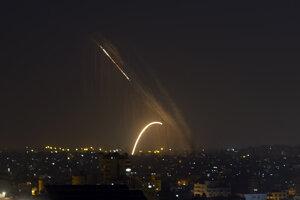 Ostreľovanie v Pásme Gazy.