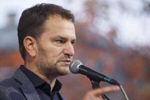 predseda hnutia OĽaNO Igor Matovič.