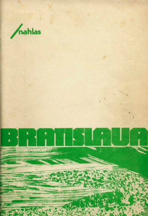 Titulka Bratislavy/nahlas z roku 1987.