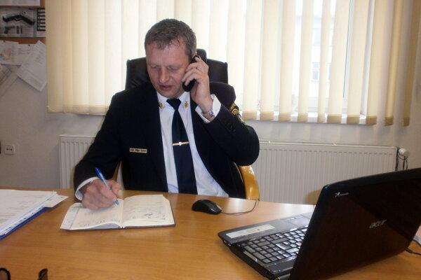 František Linet, náčelník Mestskej polície v Čadci