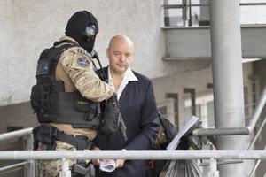 Pavla Ruska zadržali v októbri 2017 pre obvinenie z objednávky vraždy niekdajšej obchodnej spoločníčky Sylvie Volzovej.