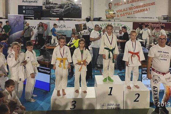 Mladí Považskobystričania získali v Galante dve medailové umiestnenia.