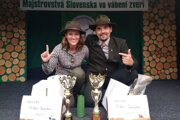 Michal Ondrejkov na majstrovstvách Slovenska.