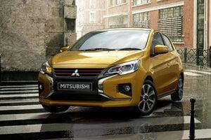Mitsubishi Space Star po facelifte