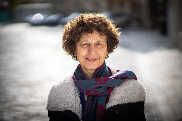 Prekladateľka Júlia Sherwood žije v Londýne a propaguje v anglofónnom svete slovenskú literatúru.