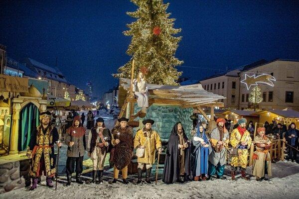 Ani tento rok nebude chýbať živý betlehem.