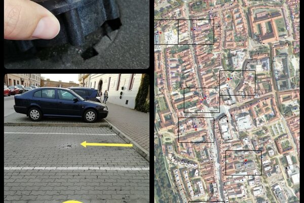 Senzory na monitoring parkovania pribudnú v centre Trnavy.