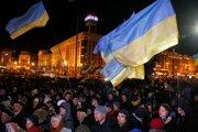 Ukrajinci si pripomenuli šieste výročie masových protestov.
