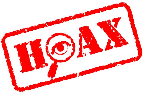 Polícia upozorňuje, že ide o hoax.