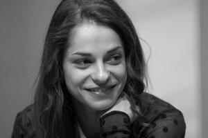 Monika Potokárová na archívnej snímke.
