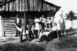 Sásovský salaš - rok 1936