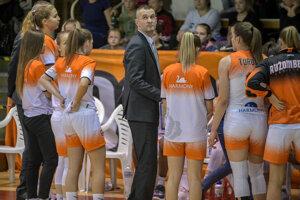 Tréner Juraj Suja.