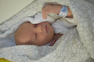 Damián Dodok (3550 g, 49 cm) sa narodil 20. novembra Monike a Matúšovi z Bytče.