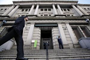 Sídlo japonskej centrálnej banky v Tokiu.