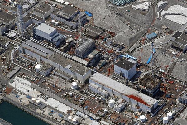 Jadrová elektráreň v japonskej Fukušime.