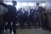 Al Pacino a Robert De Niro vo filme The Irishman.