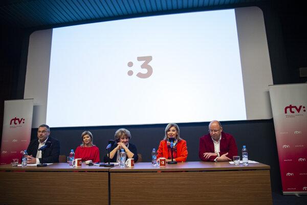 RTVS predstavila Trojku.