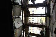 Zničená bytovka v Prešove na Mukačevskej ulici.