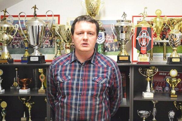 Marek Šimáček - manažér MŠK Púchov.