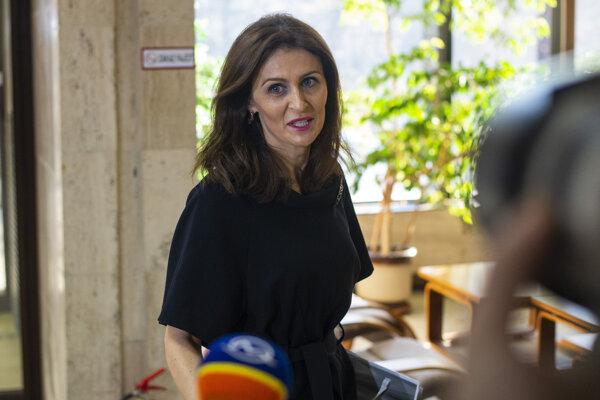 Už bývalá ministerka zdravotníctva Andrea Kalavská.