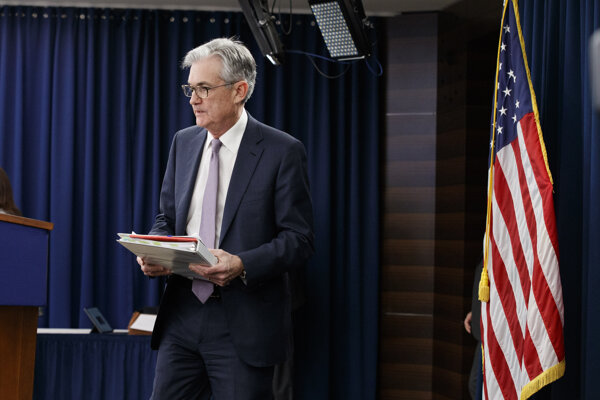 Šéf centrálnej banky USA Jerome Powell.