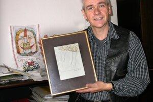 Ivan Sogel s jedným z ocenení.