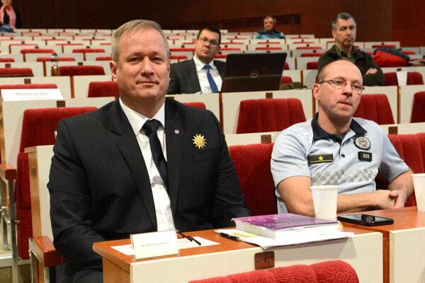 Náčelníkom košickej mestskej polície bude od 1. januára 2020 Slavomír Pavelčák (vľavo).