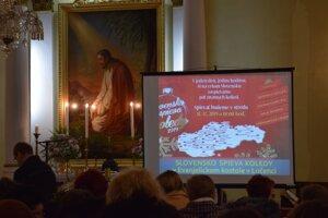 Evanjelický kostol v Lučenci ožil podujatím Slovensko spieva koledy.