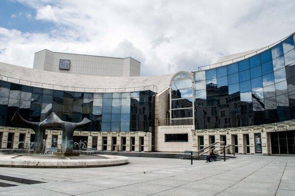 Nová budova Slovenského národného divadla.