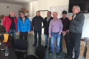 V stredu rokovali o technických záležitostiach výstavby diaľnice D3 (vpravo Ľubomír Janoška).
