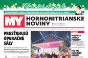 Vianočné číslo MY Hornonitrianskych novín.