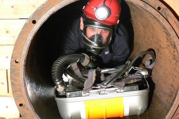 Banskými záchranármi sú len tí najlepší zamestnanci baní.