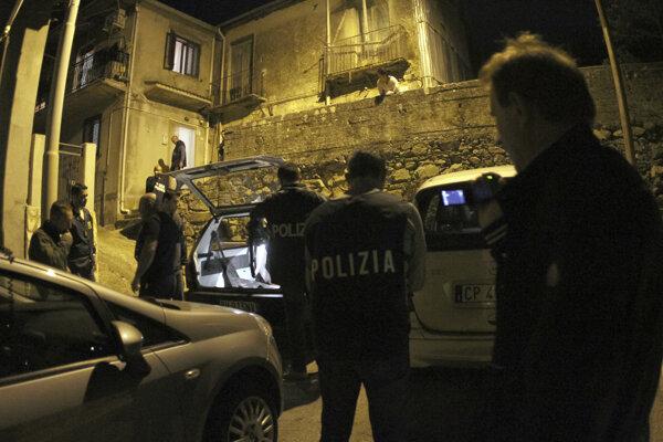 Zásah talianskej polície - ilustračná fotografia.