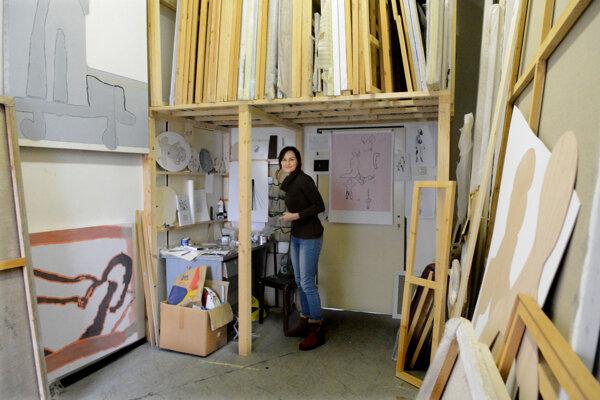Na Strojárenskej sa koncentrujú výtvarníci. Kraj tam však najnovšie buduje kancelárie.