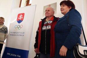 S niekdajším trénerom a rovnako olympionikom Rudolfom Čillíkom.