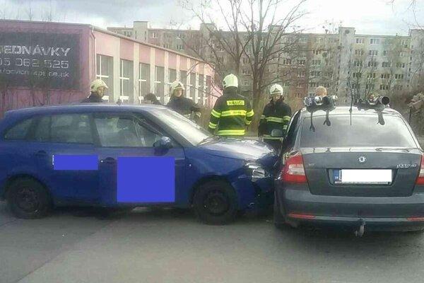 Nehoda na Popradskej.