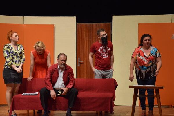 Z divadelnej hry Divadelná komédia.