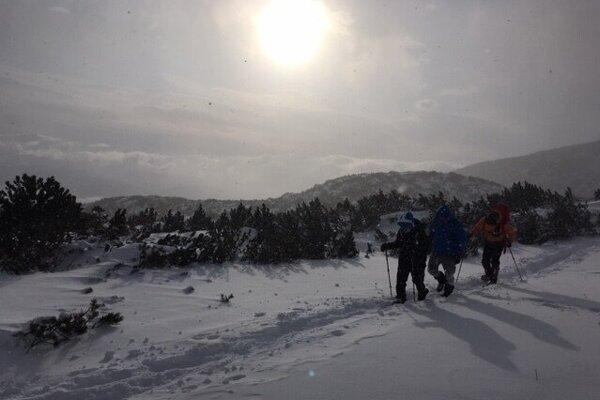 Zásah záchranárov vo Furkotskej doline v extrémnom vetre.