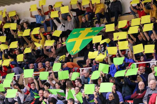 Extraligový basketbal v Žiline končí. Ilustračné foto.