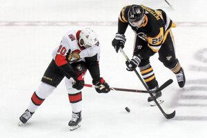 Zápas Ottawa Senators - Pittsburg Penguins.