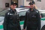 Policajná hliadka z Kremnice.