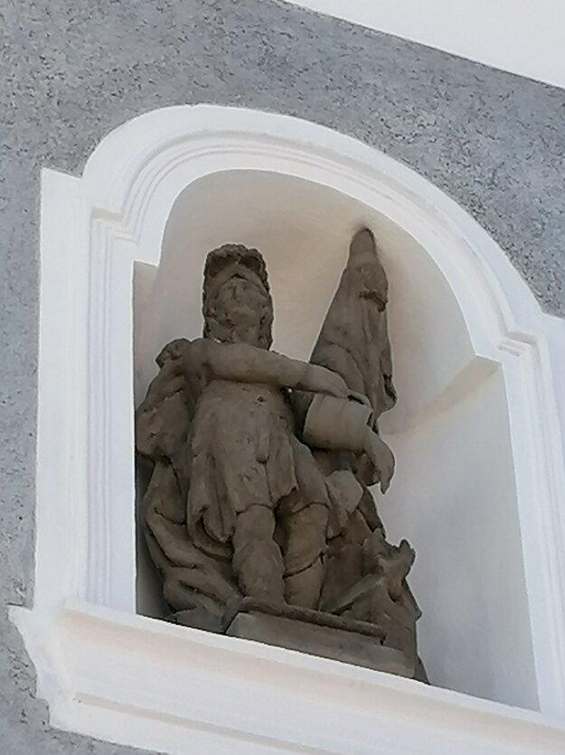 Socha sv. Floriána.